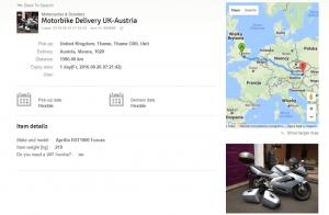 shipping motorcycle ebay