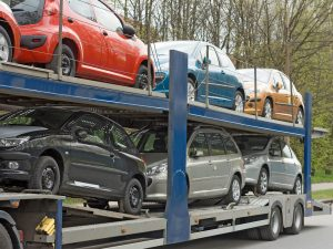 How much does it cost to transport a car within the UK?