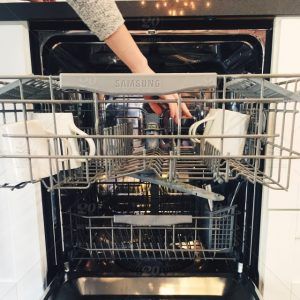 How to move a dishwasher?