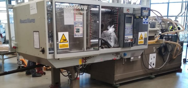 industrial machine removal
