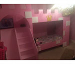 Delivery Princess bed with stairs and ladder