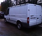 Delivery Ford transit