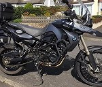 Delivery BMW F800GS