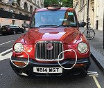 Delivery London Taxi