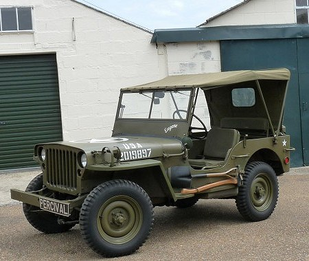 Willys Jeep (old timer)