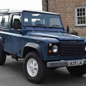 Delivery Land Rover Defender