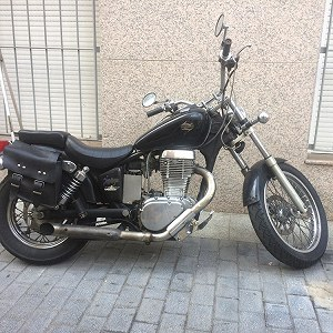Delivery Suzuki LS650 Savage
