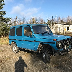 Delivery mercedes benz 250 GD