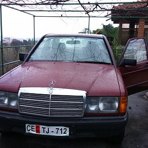 Delivery Mercedes benz 190 D