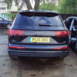 Delivery Audi Q7 does NOT drive