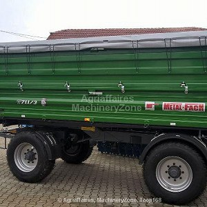 Delivery Trailer Metal Fach  length 5100/ width 2540/ height 3060
