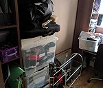 Delivery 5 boxes ,4 bags a guitar and sound system