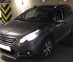 Delivery Peugeot 2008