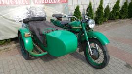 Delivery ural 8.103.10 with sidecar