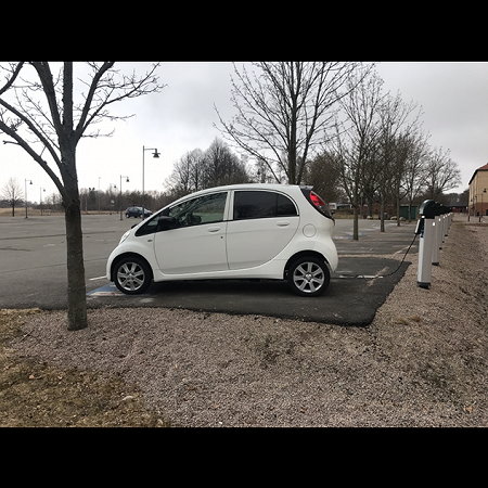 Peugeot ion electric small car