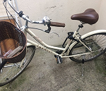 Delivery Dawes Dutches bicycle