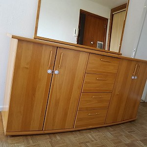 Delivery un frigo, dinning table+4 chairs, buffet, tv table, 2 matress,  approx. 20 cartons