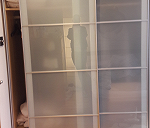 Delivery Sliding doors wardrobe