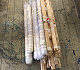 Delivery Rolls of paintings and wood strechers
