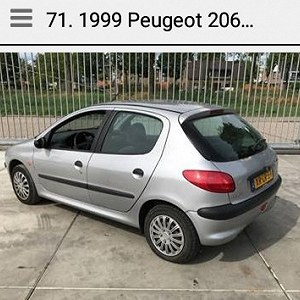 Delivery Peugeot 206