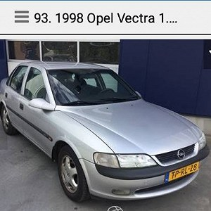 Delivery Opel vectra Opel Astra