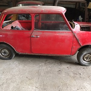 Delivery Classc MIni Clubman Rolling shell
