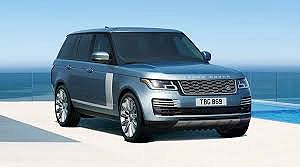 Delivery Range Rover car 2019