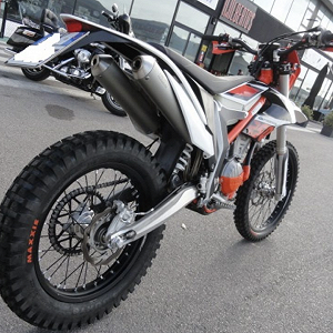 Delivery KTM 250 Freeride