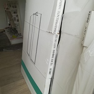 Delivery Shower screens