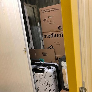 Delivery 15 square foot storage room