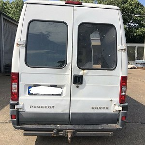 Delivery Peugeot boxer