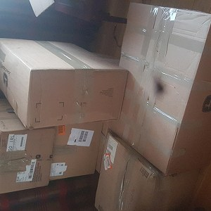 Delivery 6 parcels to Poland