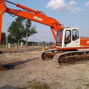 Delivery Koparka Atlas 1704LC