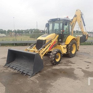 Delivery NEW HOLLAND B90B Loader Backhoe