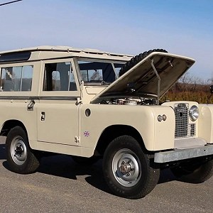 Delivery 1973 Land Rover Series 3