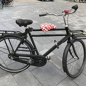 Delivery a bicycle