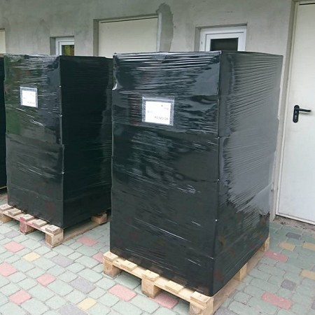 2 pallets Poland - Sweden