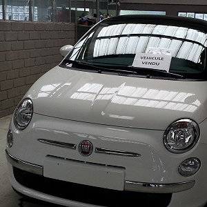 Delivery Fiat 500