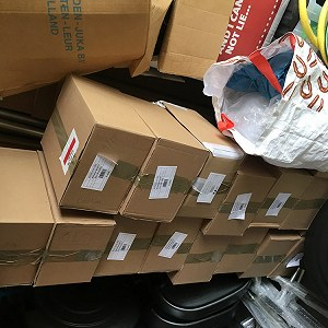 Delivery 17 Parcels to Poland