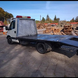 Delivery iveco daily laweta