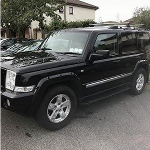Delivery Jeep commander