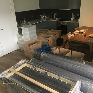 Delivery 1-bed apartment