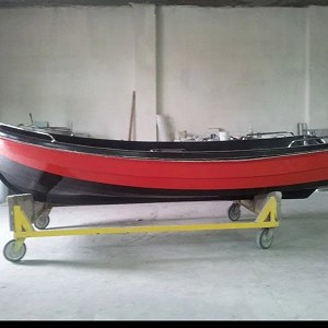 Delivery Polyester boat