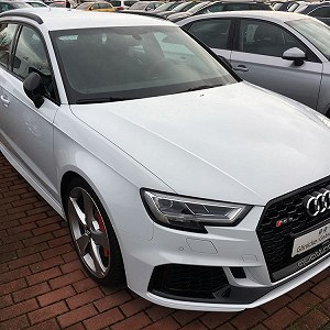 Delivery AUDI RS3