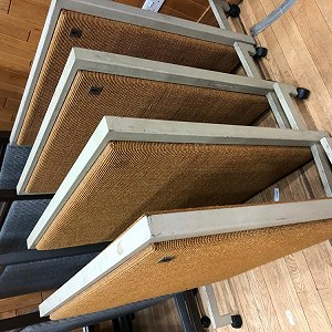 Delivery 4 LARGE ACOUSTIC SCREEN WITH WINDOWS AND 4 SMALL ACOUSTIC SCREENS
