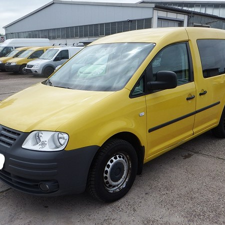Volkswagen Transporter T5 and Volkswagen Caddy